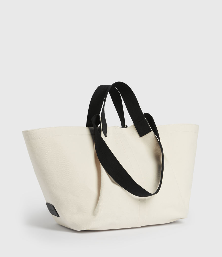 Women's Clarendon East West Tote Bag (warm_white) - Image 3