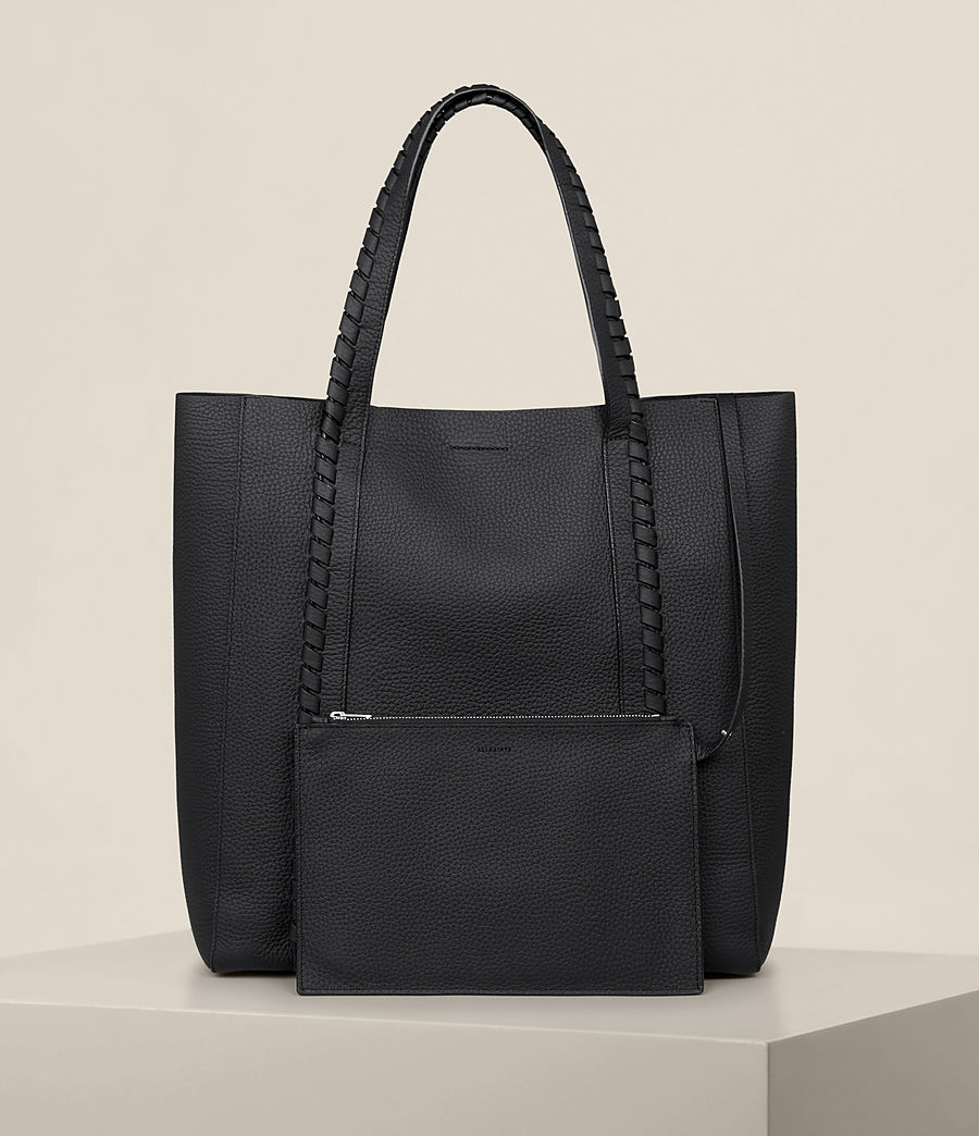 Femmes Ray North South Tote (black) - Image 8