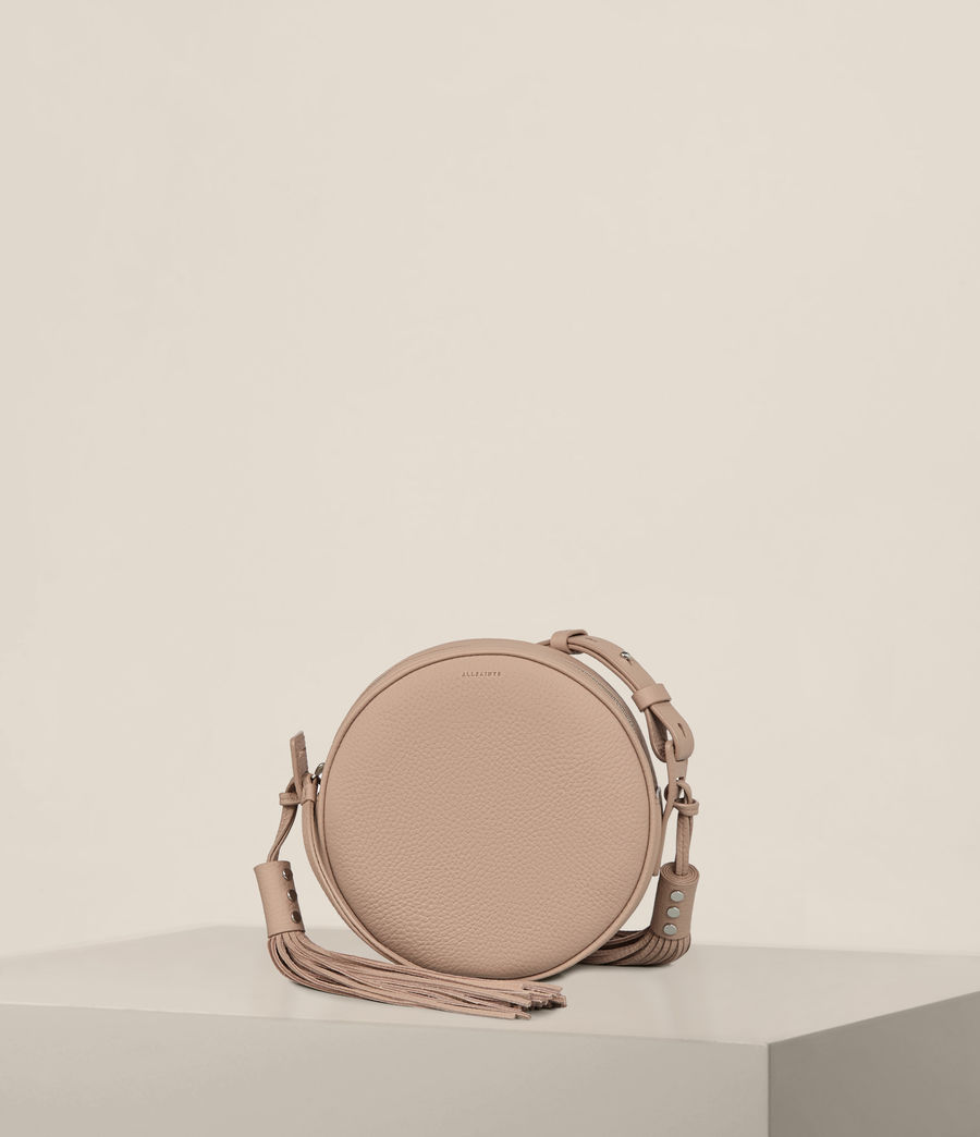 Womens Kepi Round Crossbody (blush_pink) - Image 1