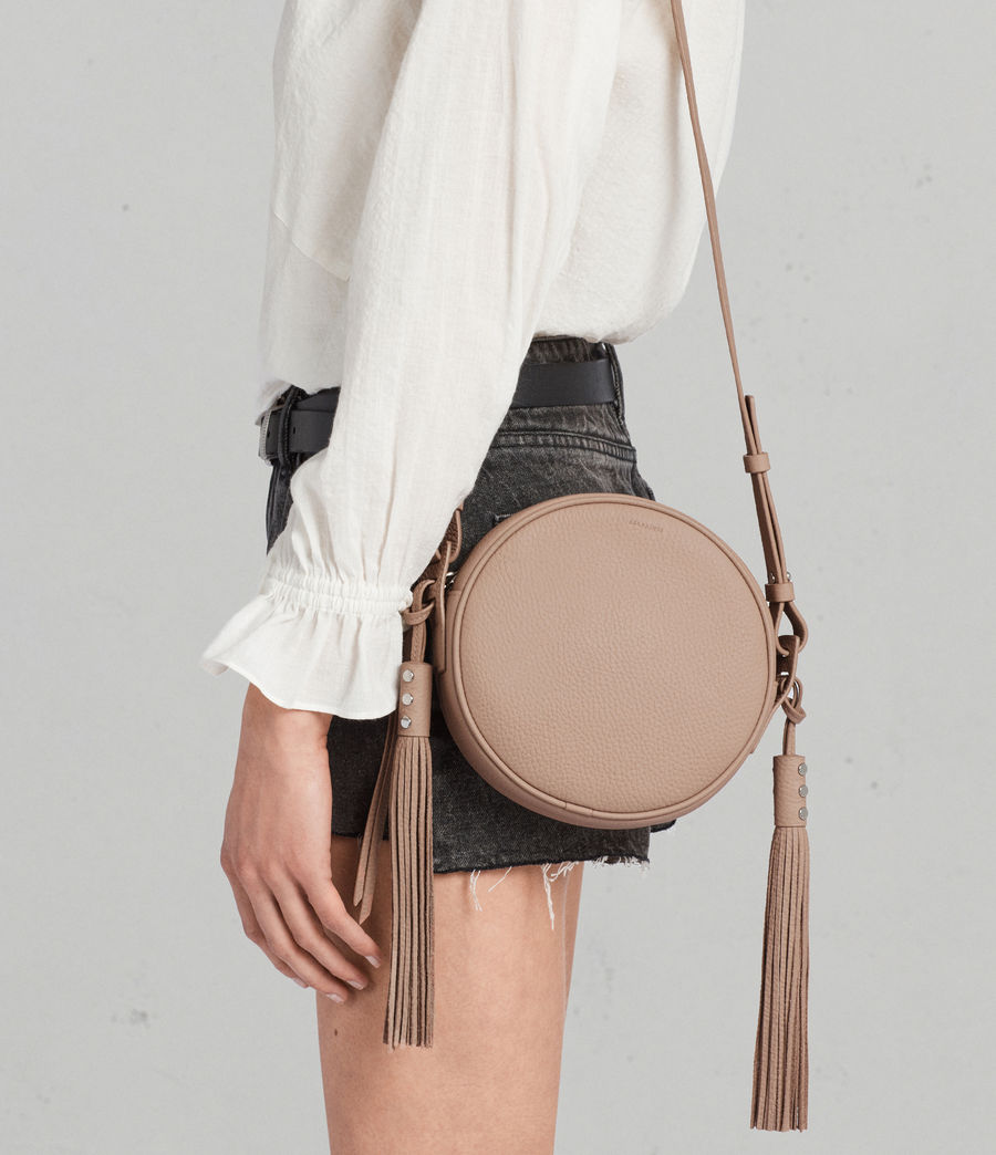 Womens Kepi Round Crossbody (blush_pink) - Image 2