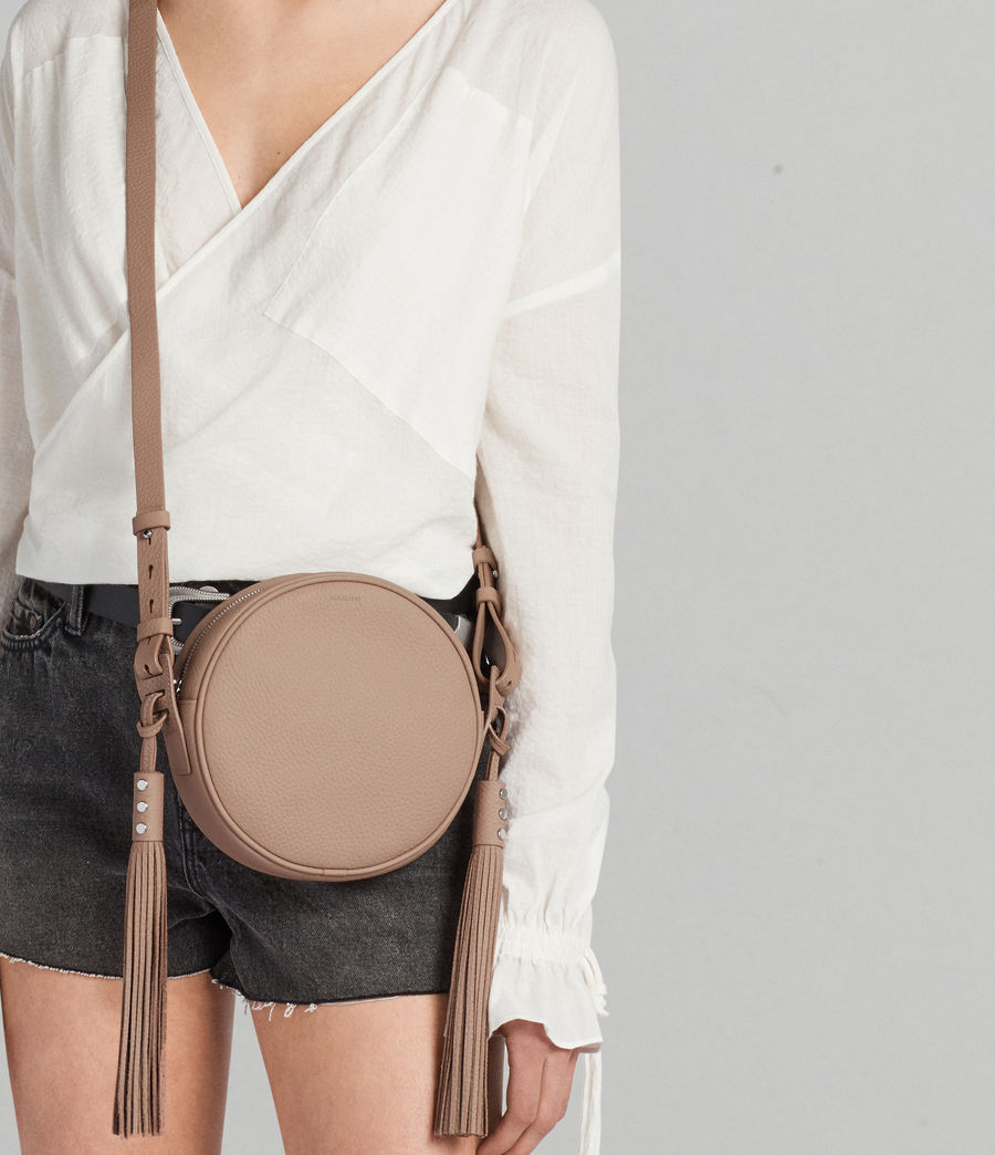 Womens Kepi Round Crossbody (blush_pink) - Image 3