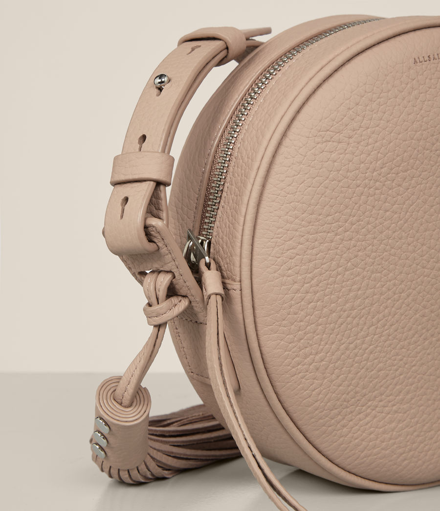 Womens Kepi Round Crossbody (blush_pink) - Image 4