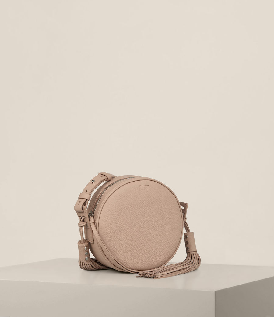 Womens Kepi Round Crossbody (blush_pink) - Image 5