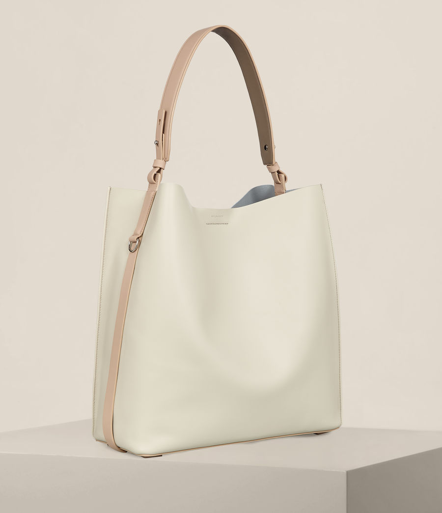 Mujer Bolso tote Paradise North South (lamb_white) - Image 5