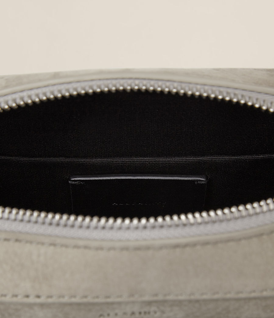 Women's Cooper Leather Camera Bag (light_cement_grey) - Image 6