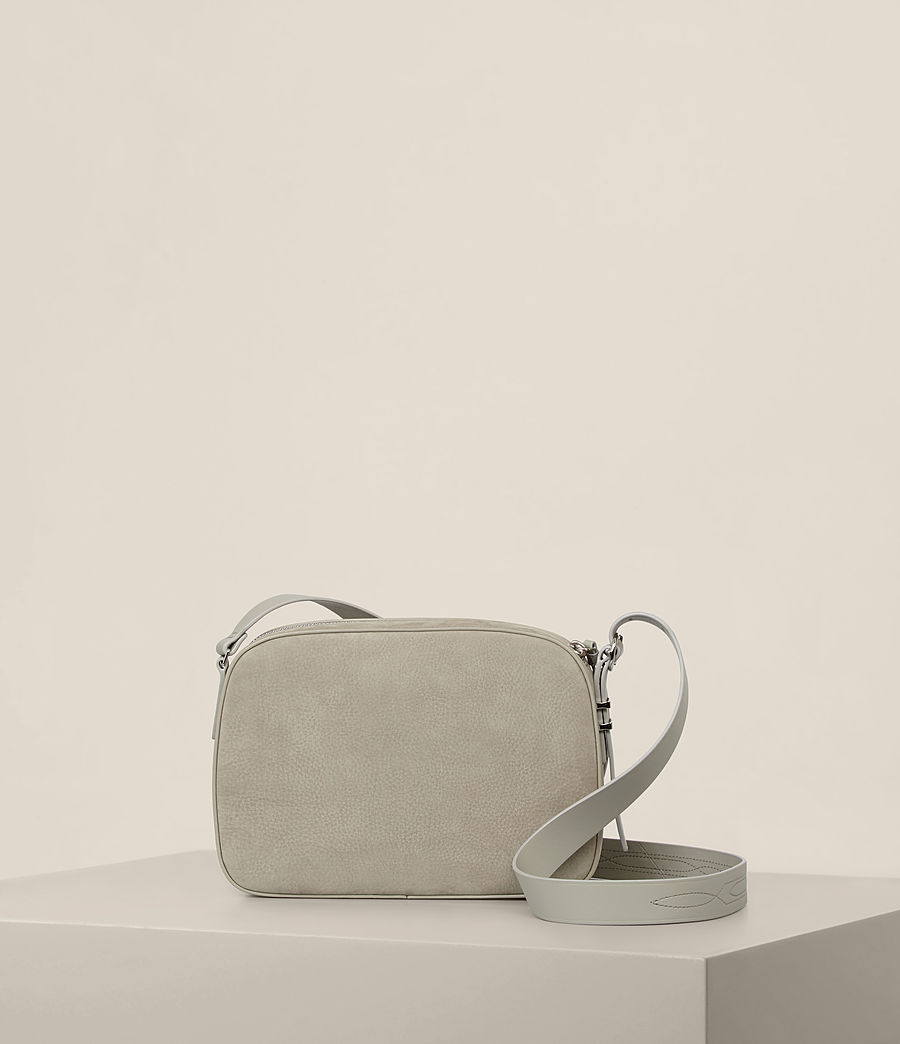 Women's Cooper Leather Camera Bag (light_cement_grey) - Image 7