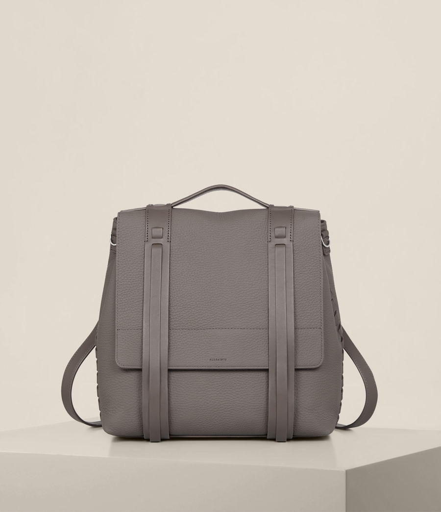 Womens Fin Lea Backpack (whisper_grey) - Image 1