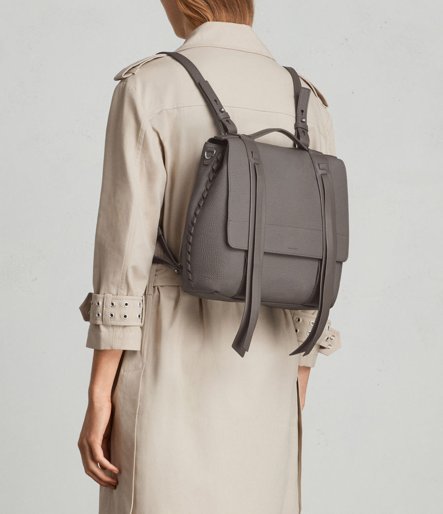 Womens Fin Lea Backpack (whisper_grey) - Image 2