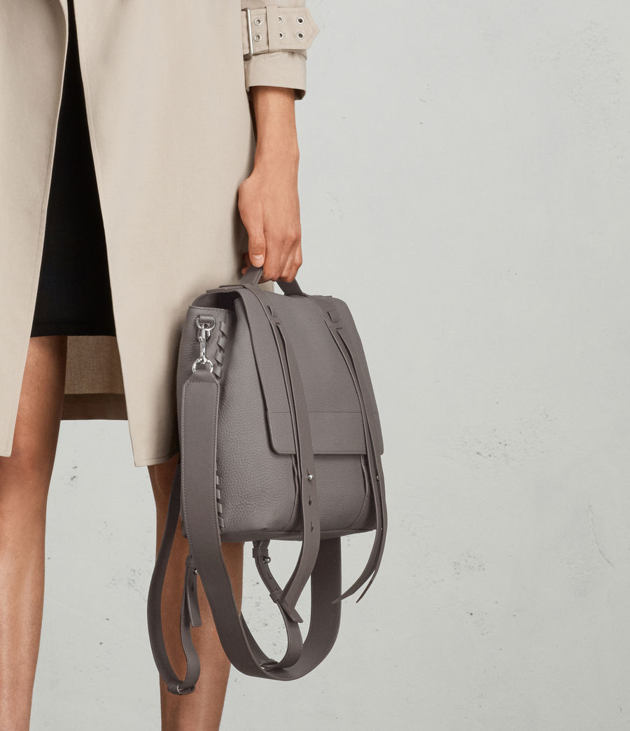 Womens Fin Lea Backpack (whisper_grey) - Image 3