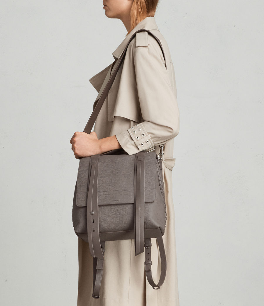 Womens Fin Lea Backpack (whisper_grey) - Image 4