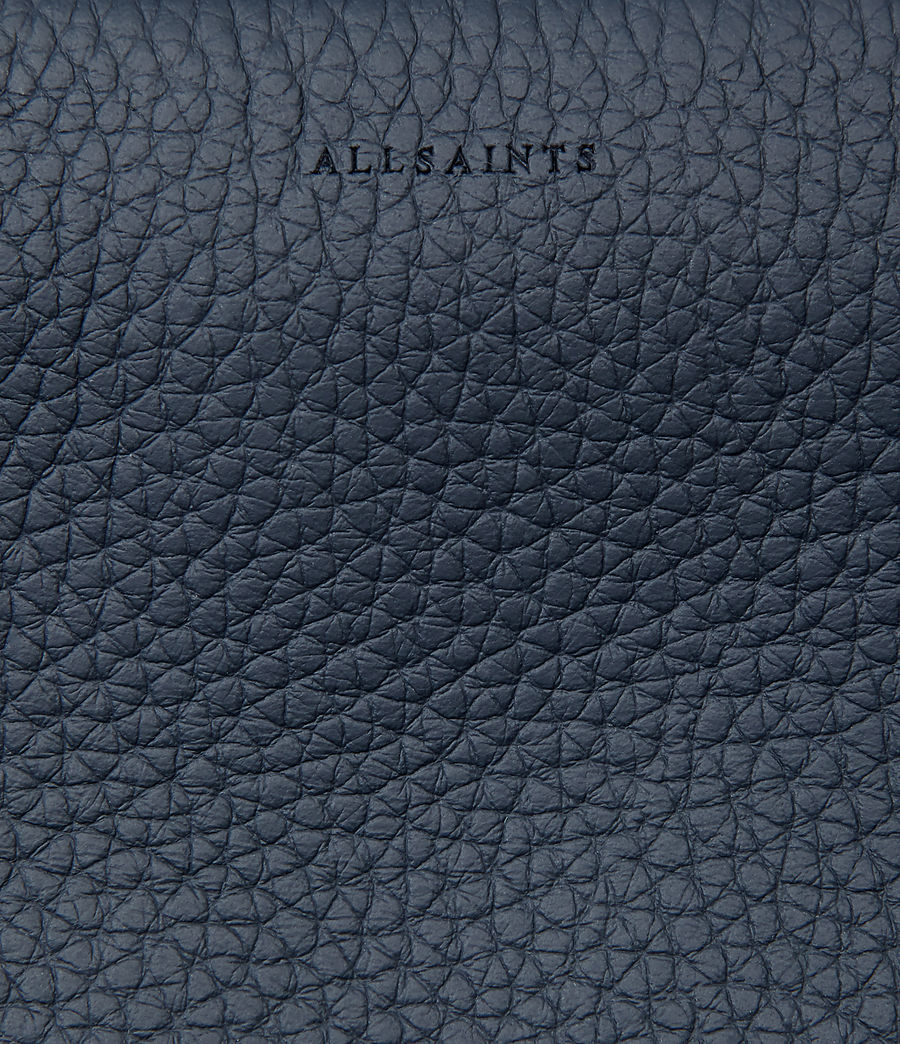Womens Kita Small Leather Backpack (marine_blue) - Image 6