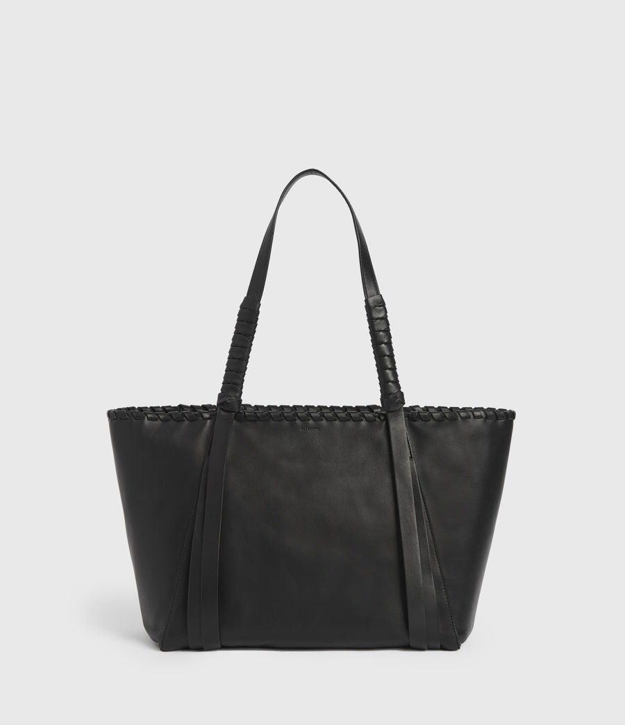Womens Courtney Small East West Tote Bag (black) - Image 1