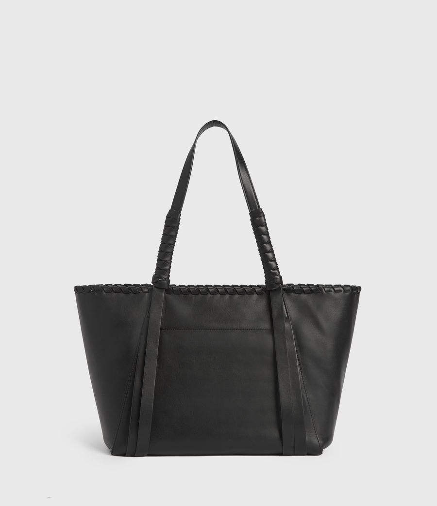 Womens Courtney Small East West Tote Bag (black) - Image 6
