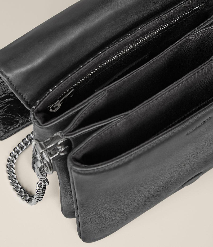 Damen Zep Schultertasche (shiny_black) - Image 6