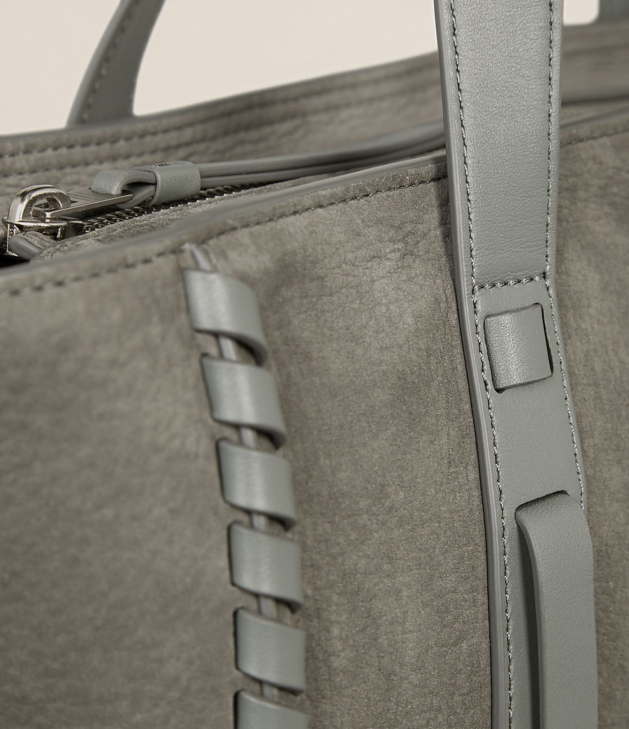 Femmes Sac Ray East West Nubuck (light_slate_grey) - Image 3