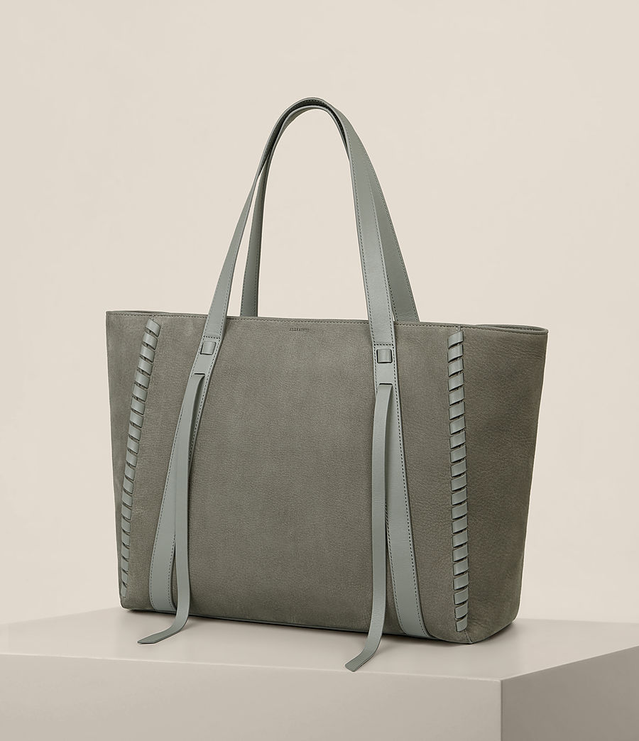 Femmes Sac Ray East West Nubuck (light_slate_grey) - Image 5
