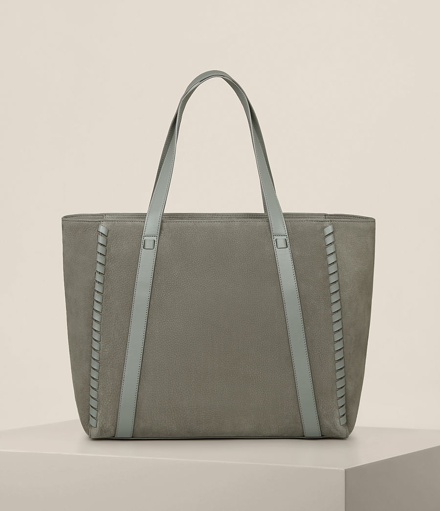 Femmes Sac Ray East West Nubuck (light_slate_grey) - Image 7