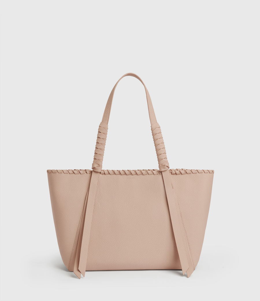 Womens Kepi Small East West Leather Tote Bag (nude_pink) - Image 1