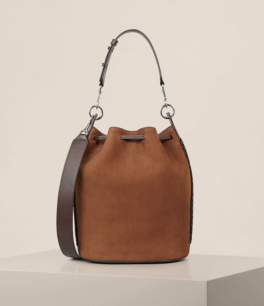 Mujer Bolso bucket Ray Nubk (coffee_brown) - Image 8