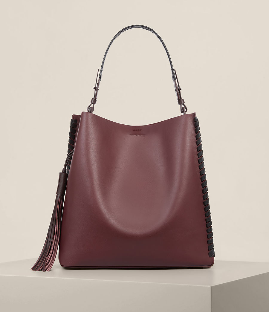 Women's Kepi North South Tote (burgundy_red) - Image 1
