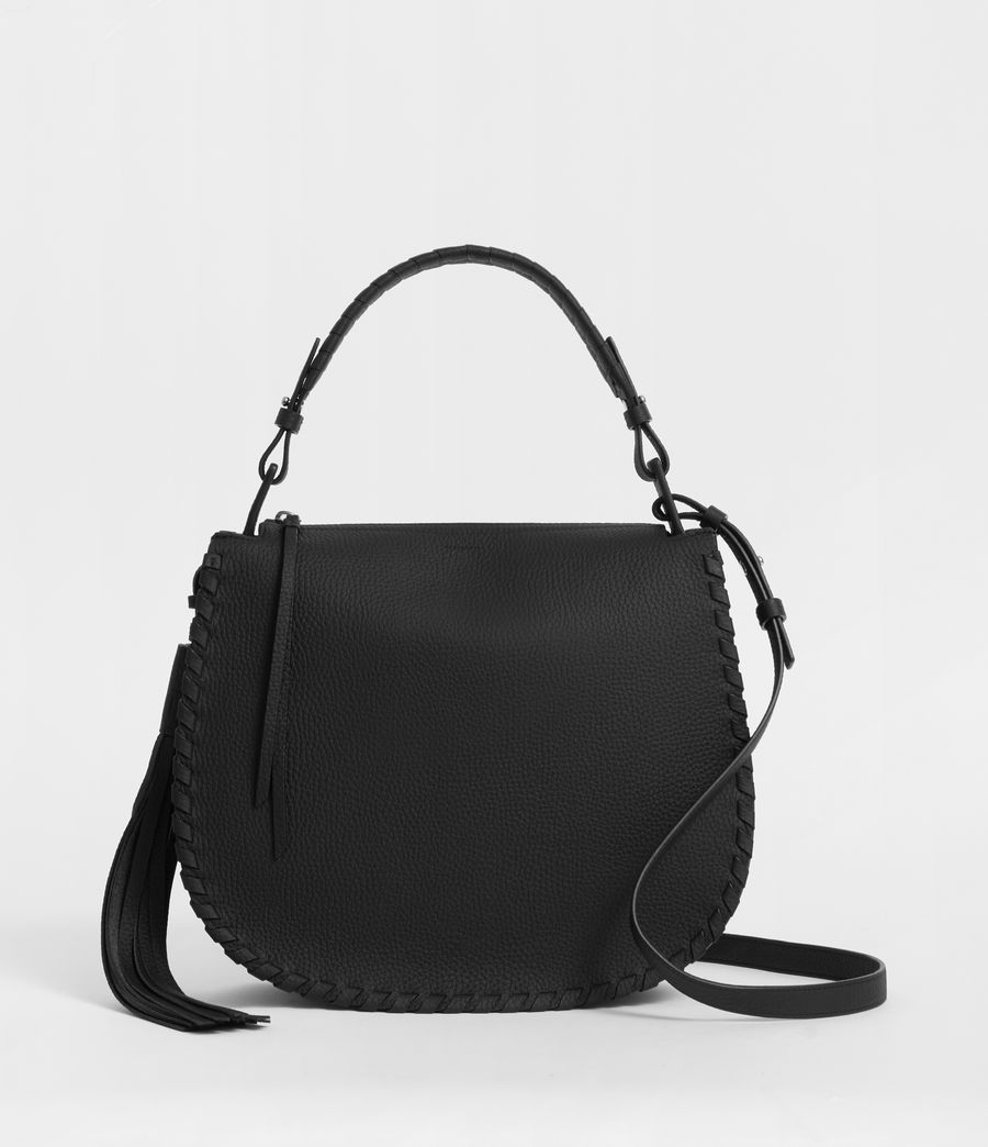 Womens Mori Hobo Bag (black) - Image 1