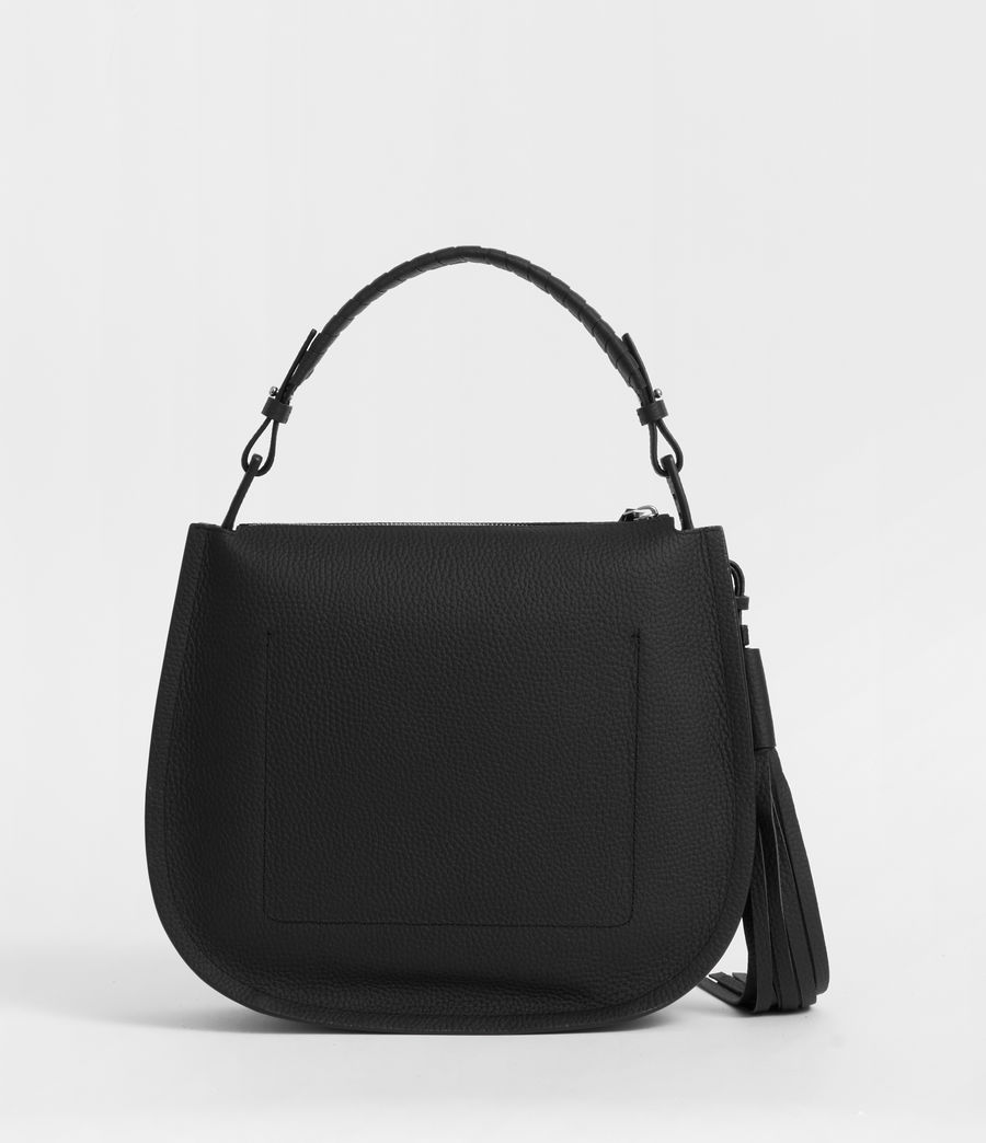 Womens Mori Hobo Bag (black) - Image 6