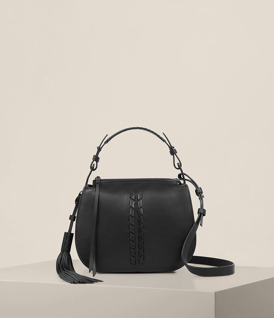 Womens Kepi Crossbody Bag (black) - Image 1
