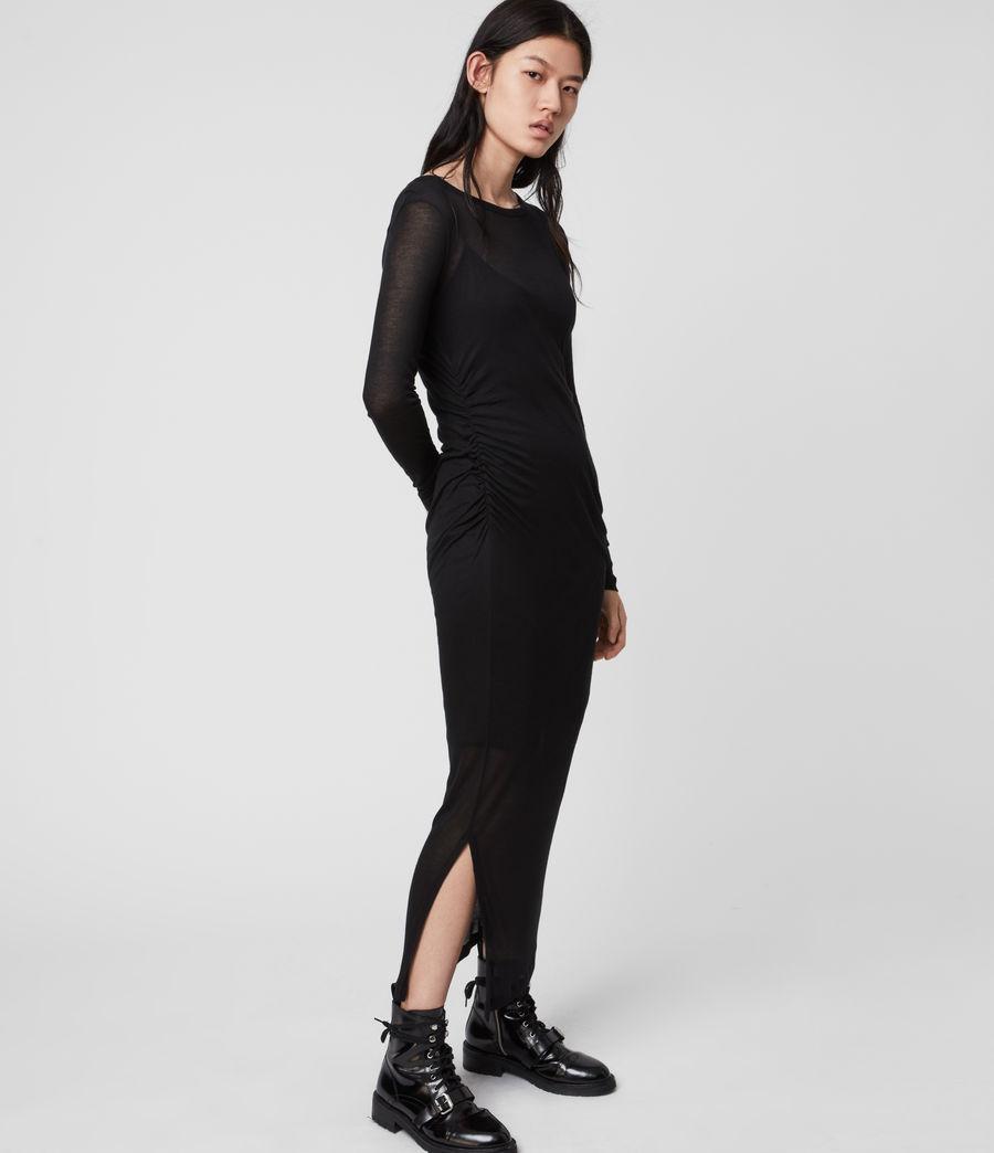 Mujer Vestido con Combinación Francesco (black) - Image 3
