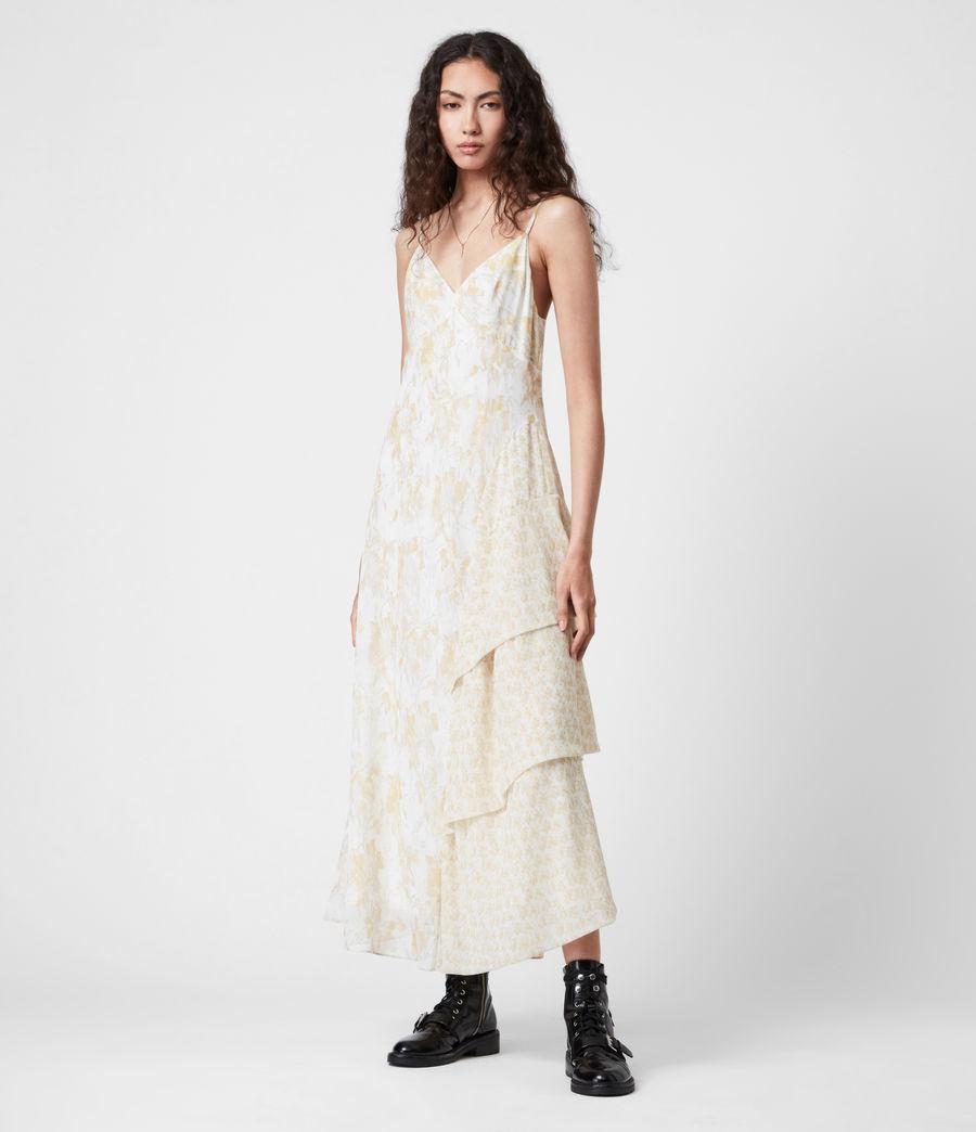 Damen Kali Marble Dress (beige) - Image 1