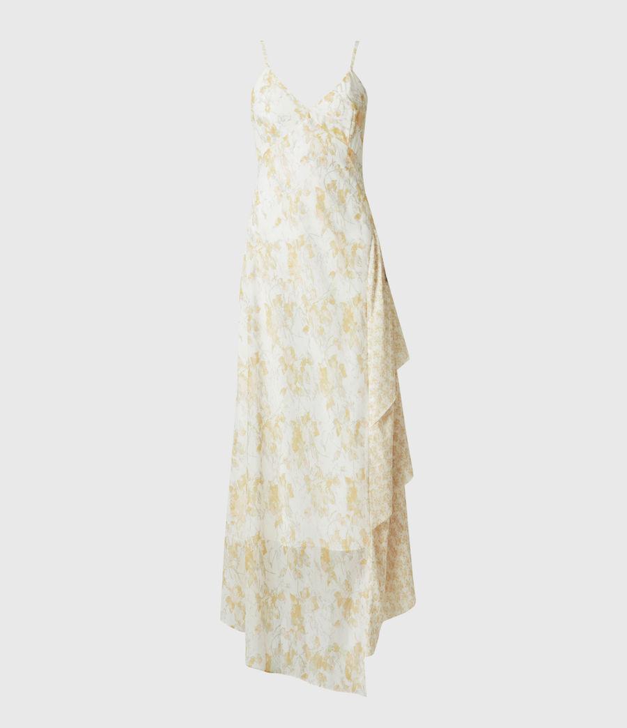Damen Kali Marble Dress (beige) - Image 2