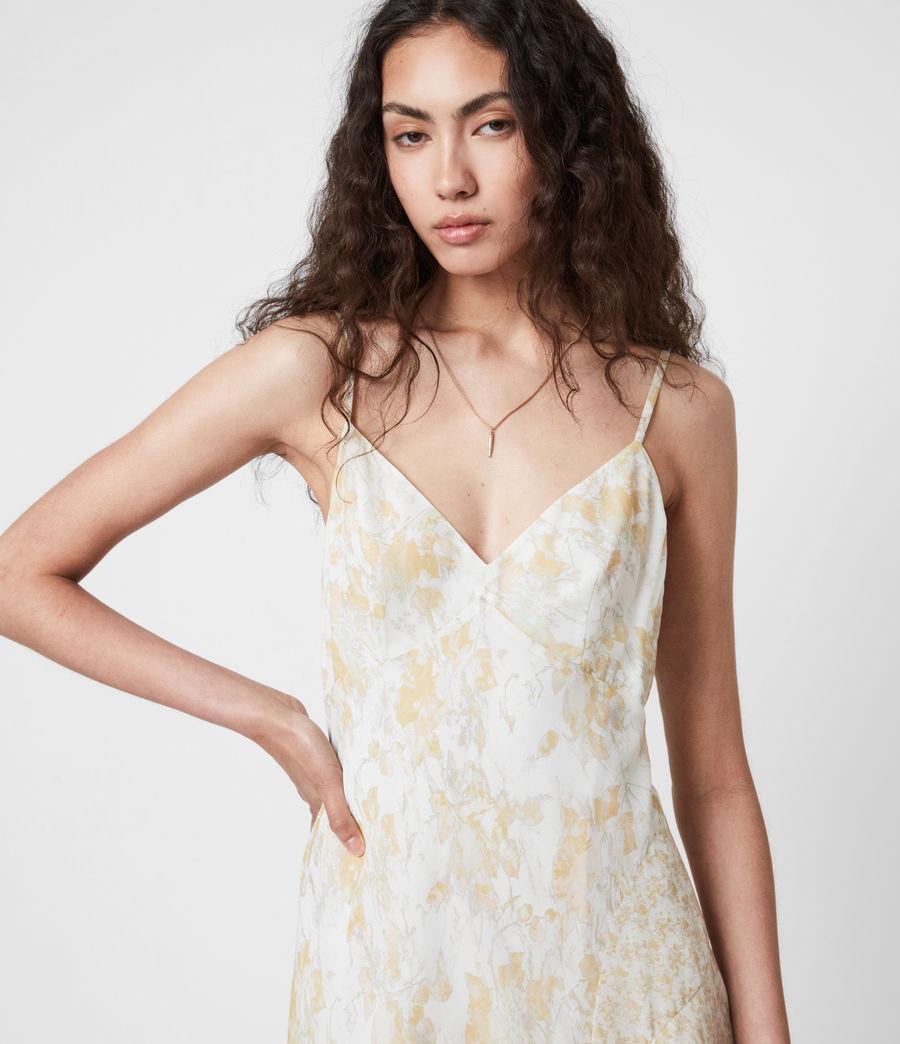 Damen Kali Marble Dress (beige) - Image 4