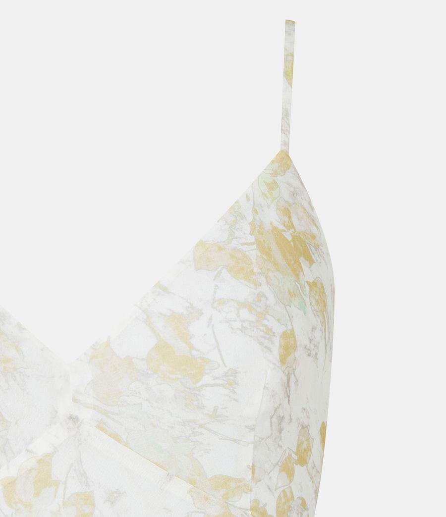 Damen Kali Marble Dress (beige) - Image 5