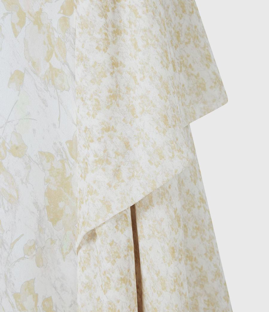 Damen Kali Marble Dress (beige) - Image 6