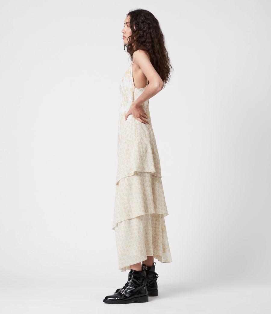 Damen Kali Marble Dress (beige) - Image 8