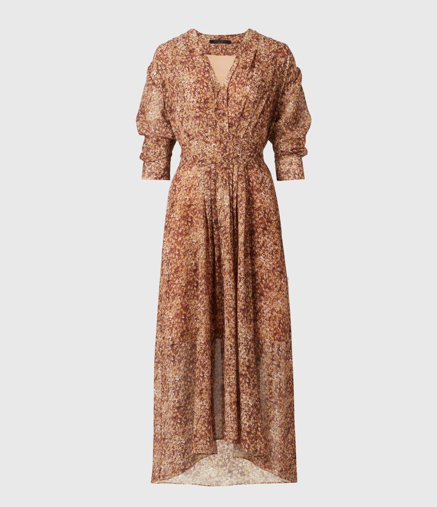 Women's Ina Tabby Dress (chestnut) - Image 2