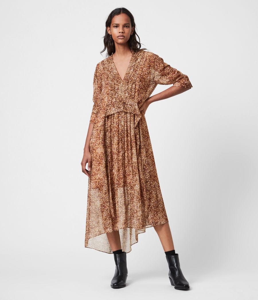 Women's Ina Tabby Dress (chestnut) - Image 4