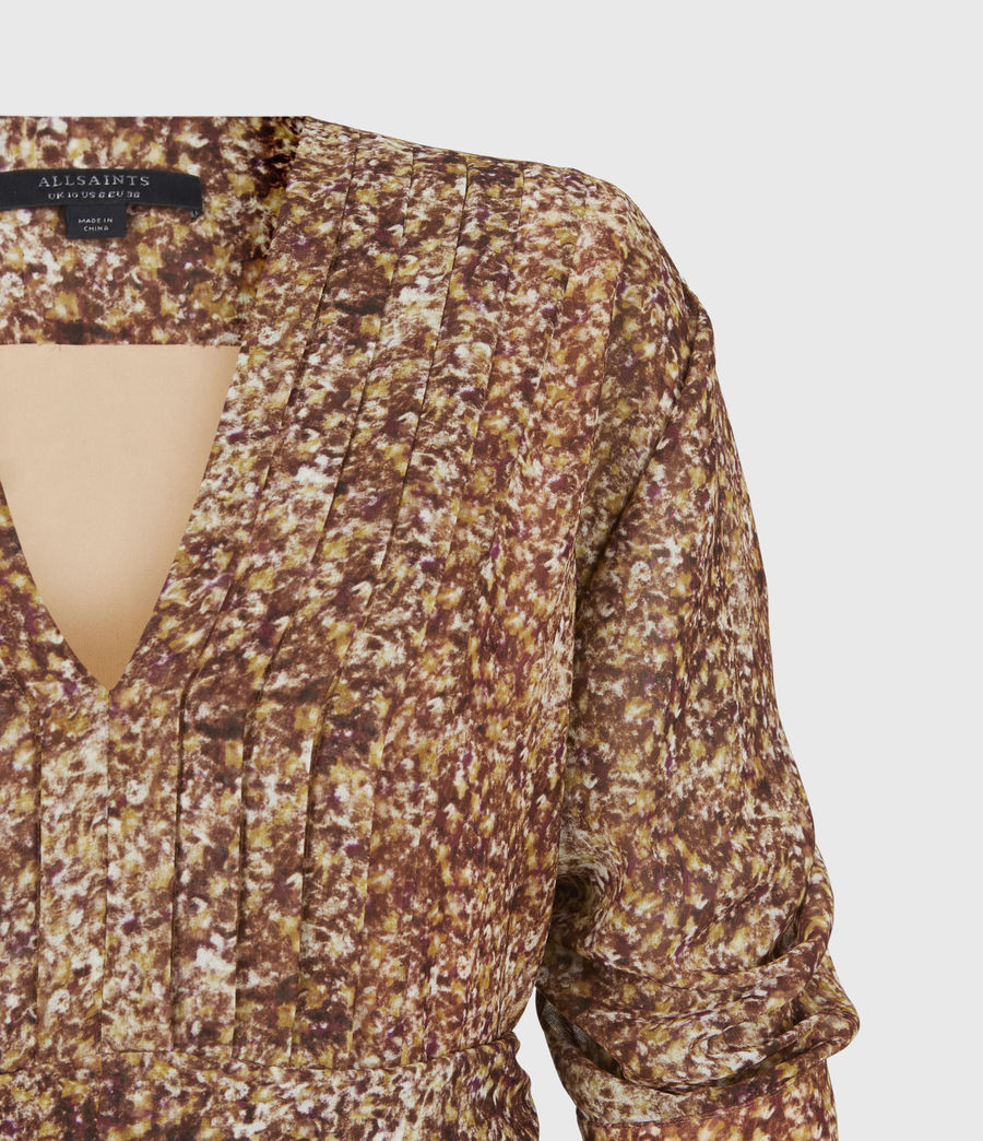 Women's Ina Tabby Dress (chestnut) - Image 5