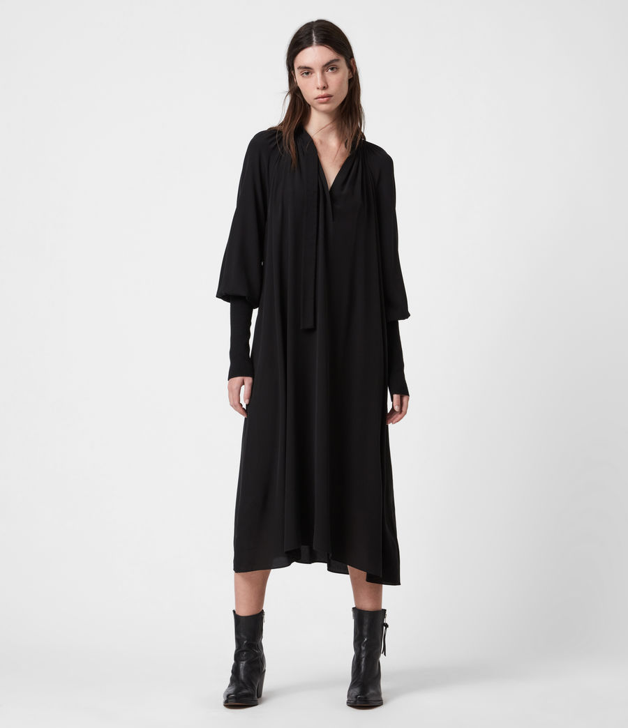 Womens Serin Dress (black) - Image 1
