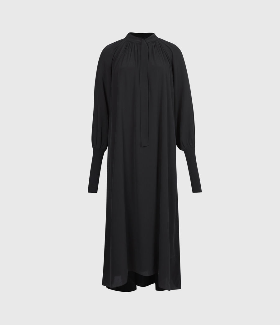 Womens Serin Dress (black) - Image 2