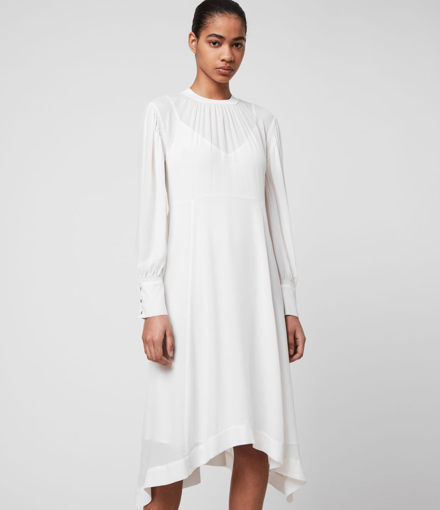 Damen Fayre Kleid (chalk_white) - Image 2