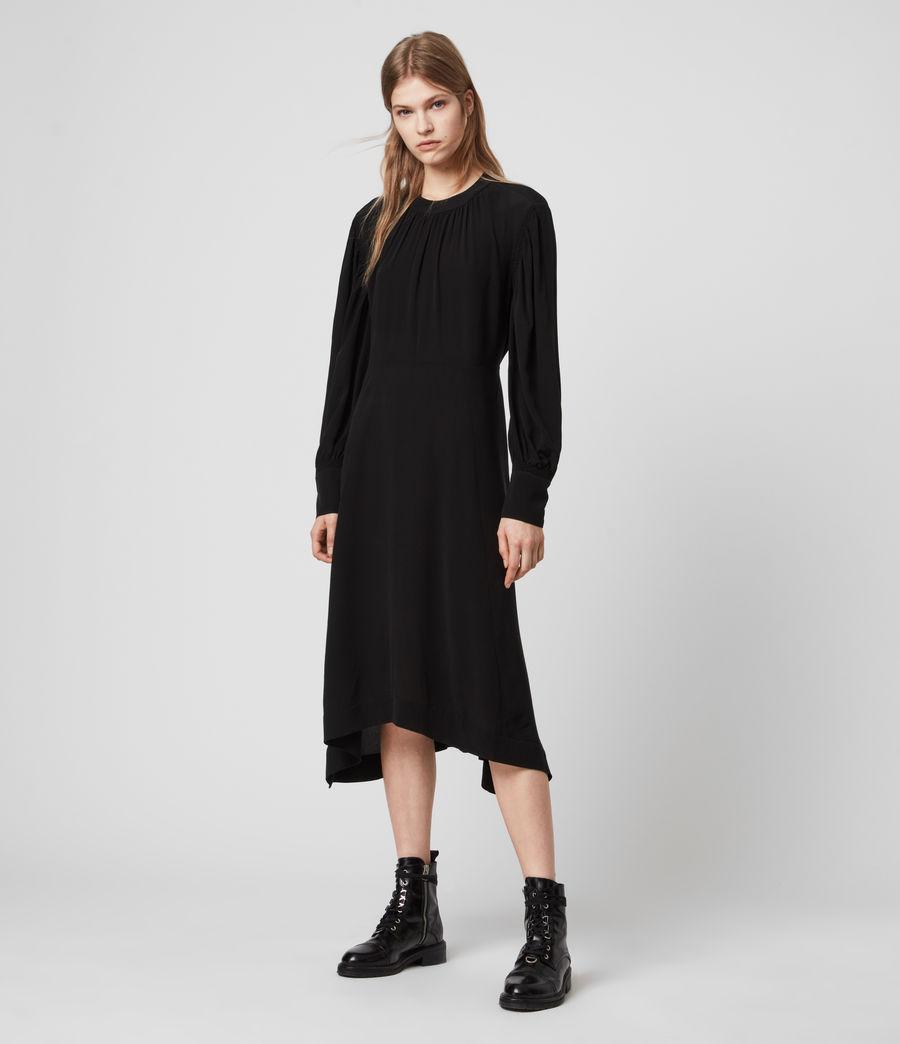 Damen Fayre Kleid (black) - Image 3