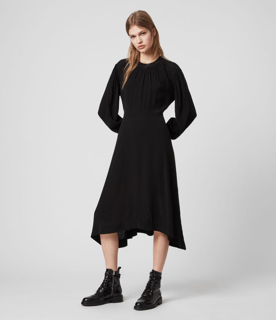 Damen Fayre Kleid (black) - Image 4