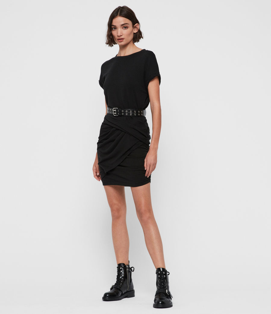 Womens Freidala Dress (black) - Image 1