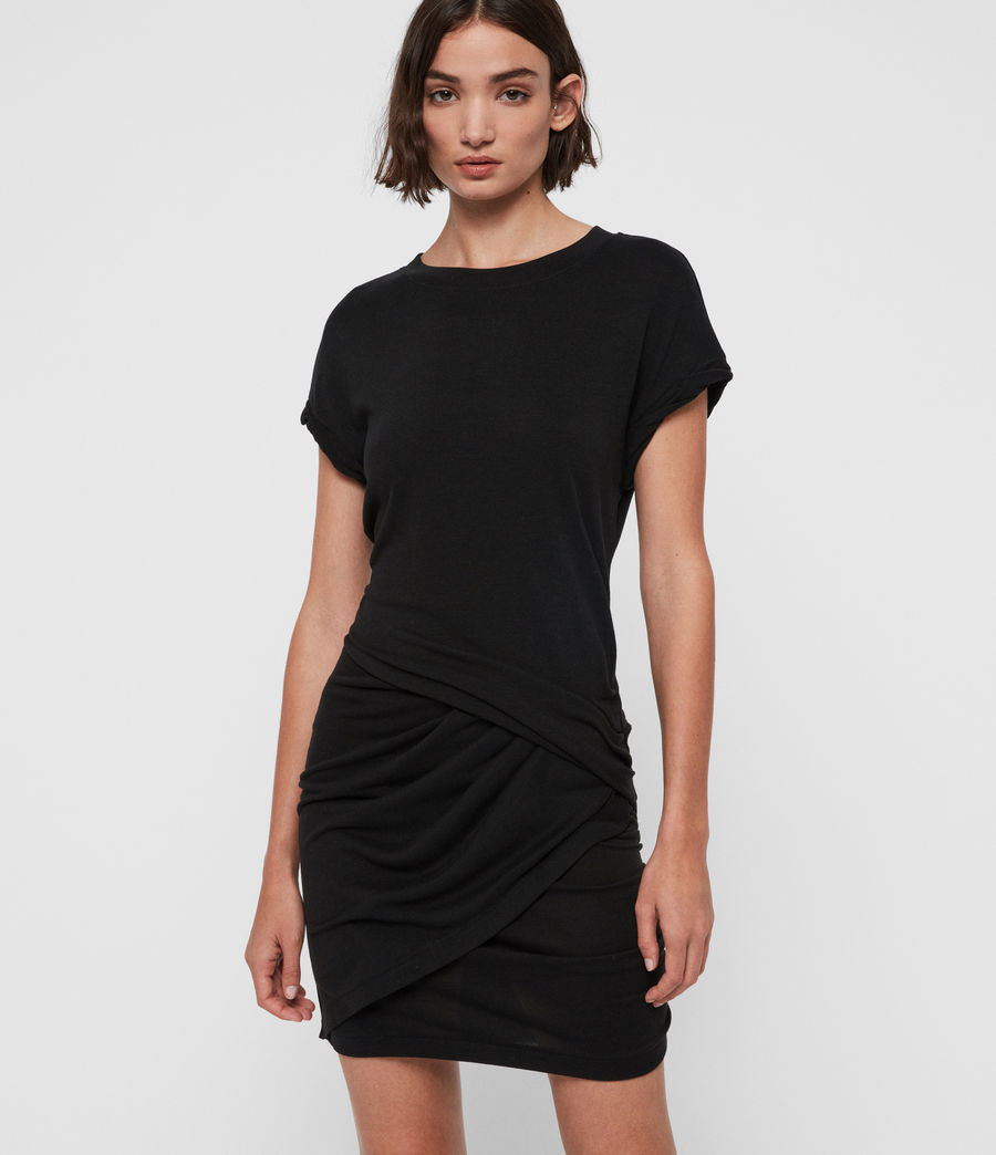 Womens Freidala Dress (black) - Image 2
