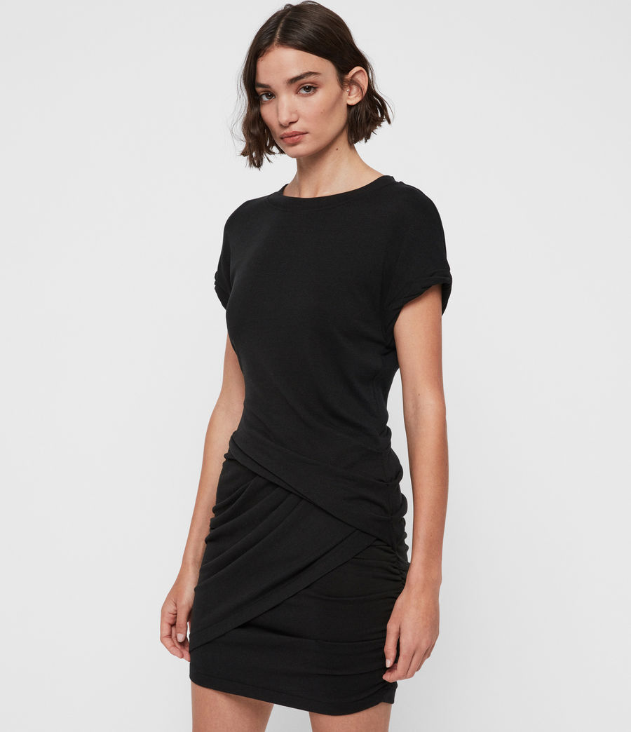 Womens Freidala Dress (black) - Image 3