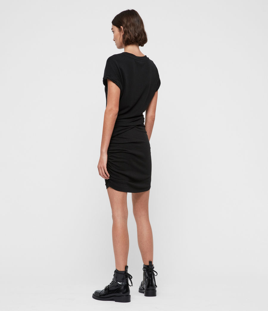 Womens Freidala Dress (black) - Image 5