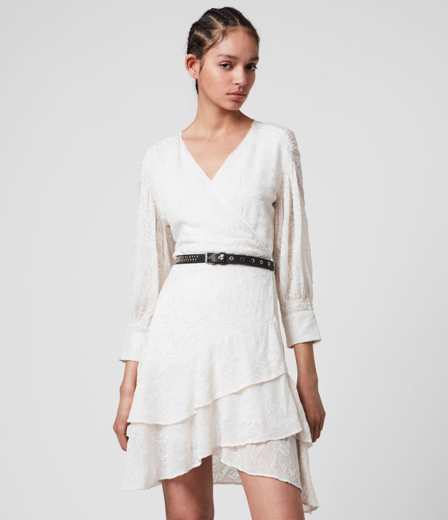 Donne Keva Palmer Dress (chalk_white) - Image 3
