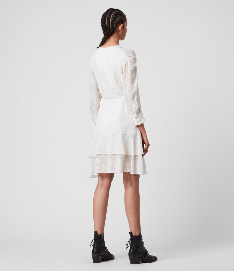 Donne Keva Palmer Dress (chalk_white) - Image 6