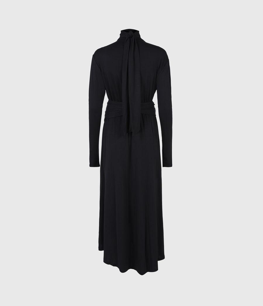 Damen Erna Dress (black) - Image 3