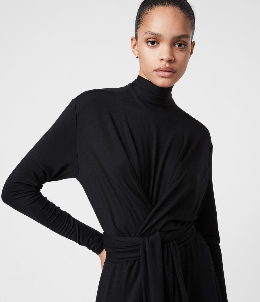 Damen Erna Dress (black) - Image 4